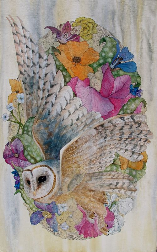 Katie Green - owl illustration