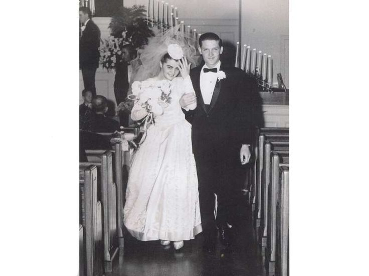 David and I were married on December 5, 1964. I am wearing the dress my dear mother made for my thre... - Provided by Reader's Digest (Association) Canada ULC