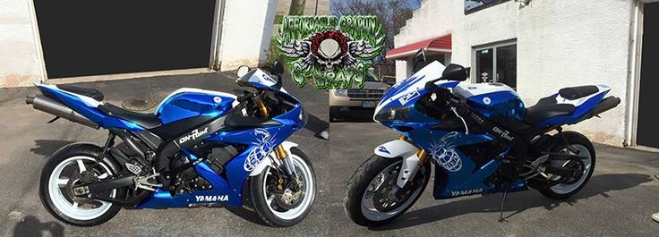Nice Bike Wrap By Affordable Graphix Materials Used Avery - Vinyl skins for motorcycles