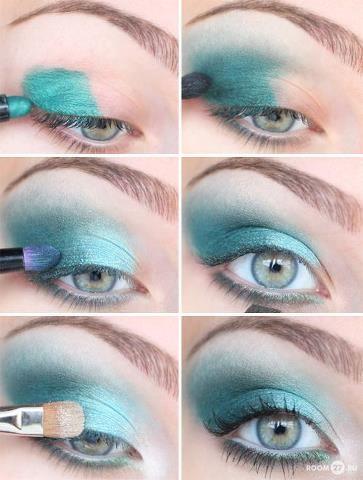 Azul com verde agua, lindoo !