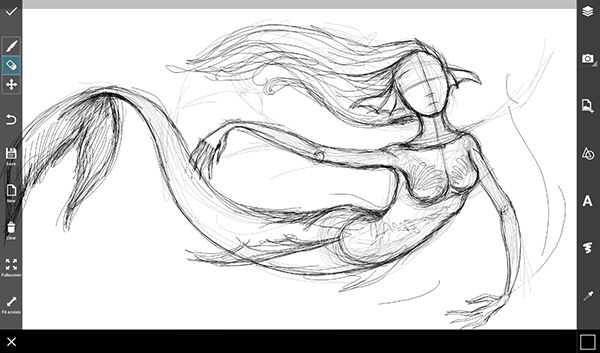 Step by Step Tutorial on How to Draw a Mermaid | Create + Discover ...