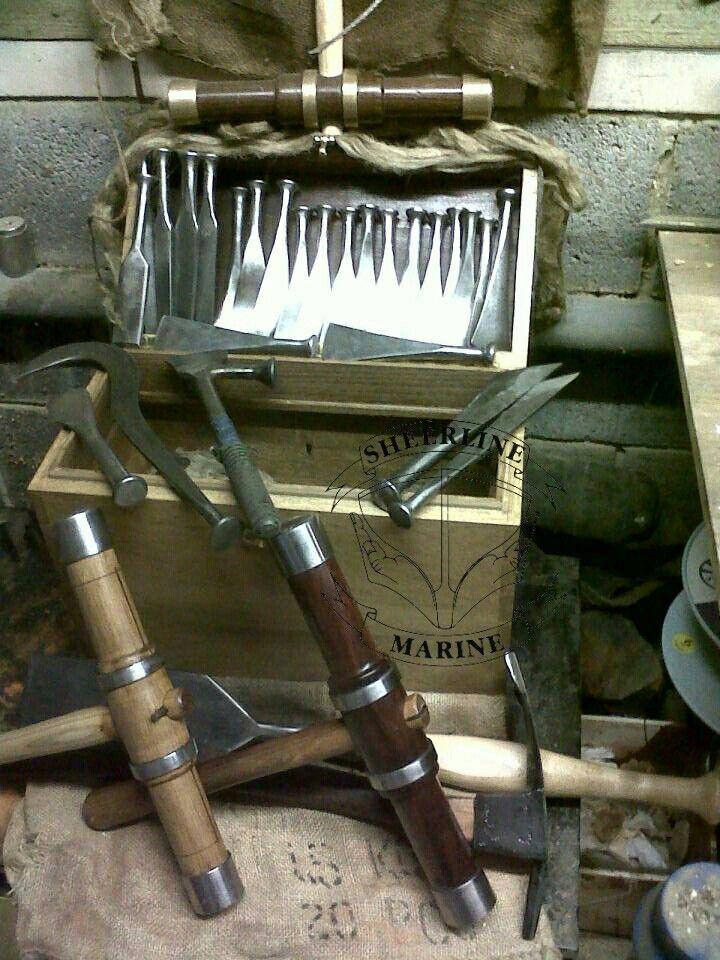 Caulking box and shipwright tools of mine | ИНСТРУМЕНТЫ ...