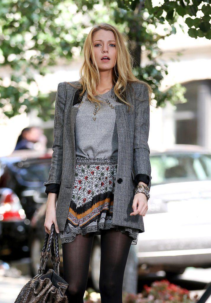 Blake Lively Mini Skirt - Blake Lively Dresses & Skirts - StyleBistro