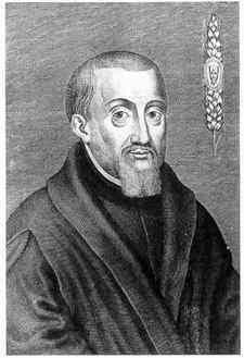 Saint Nicholas Owen, S.J., (died 1606) was a Jesuit lay brother who, for about 30 years, built hiding places for priests in the homes of Catholic families during the reign of Queen Elizabeth I of England.   Owen was canonized as one of the Forty Martyrs of England and Wales by Pope Paul VI on 25 October 1970.  Catholic stage magicians who practice Gospel Magic consider St. Nicholas Owen the patron saint of Illusionists and Escapologists.