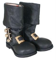 Santa Leather Boots