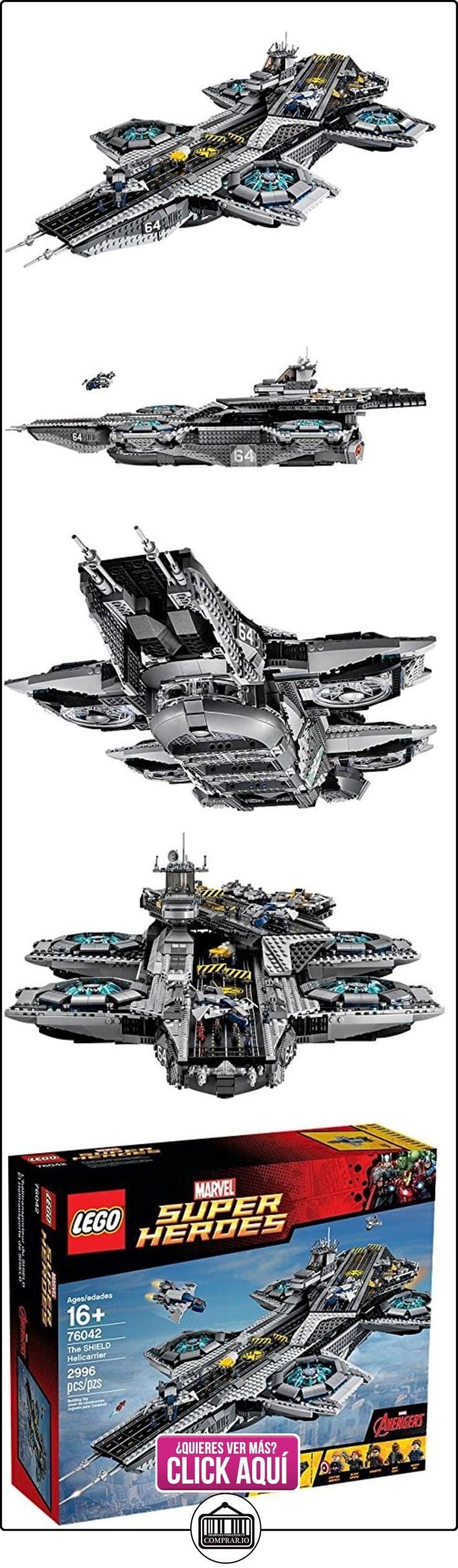 LEGO Marvel Super Heroes El Helitransporte de SHIELD - juegos de construcción (16 año(s), 2996 pieza(s), Cómics, Niño/niña, Multicolor)  ✿ Lego - el surtido más amplio ✿ ▬► Ver oferta: https://comprar.io/goto/B013CS6IN4