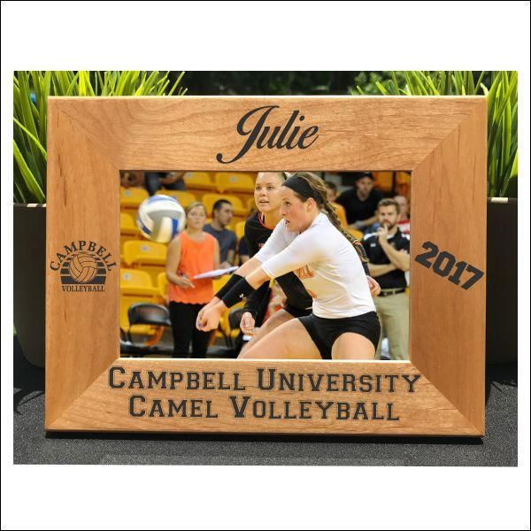 Volleyball // Personalized Engraved Photo Frame // Gift