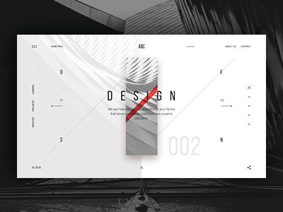 ARC design - home page
