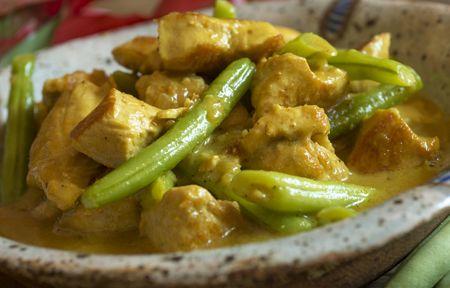 Receita Dedo de Moça: Frango ao curry