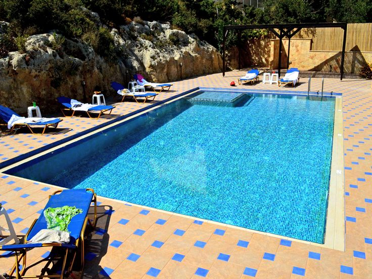 #Villa #Sevi #Houses, a large and a smaller house each with their own pool in a charming village in western #Crete! http://www.cretetravel.com/hotel/villa-sevi-houses/