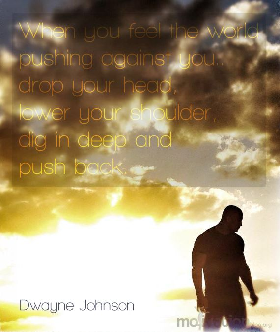 Dwayne Johnson quote - Motivational quotes and posters