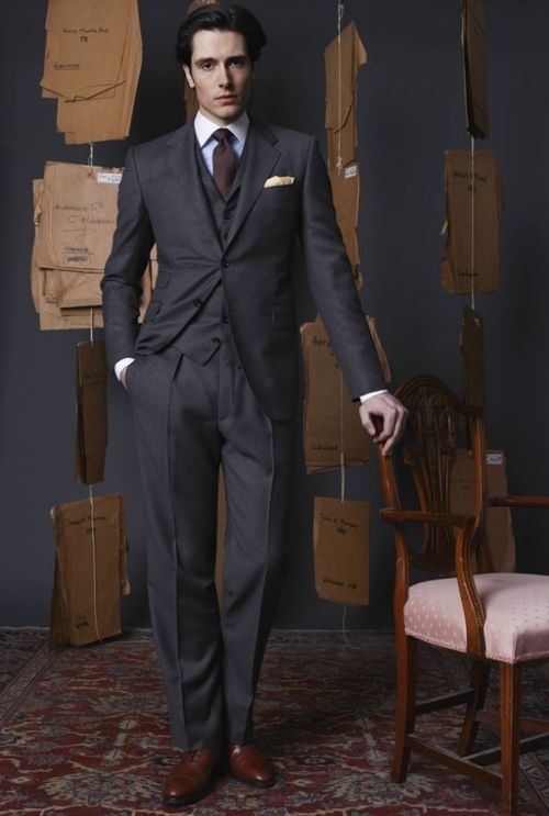 Richard Anderson - 13 Savile Row - F/W - 2012/2013