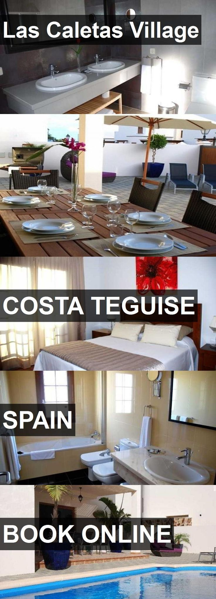Hotel Las Caletas Village in Costa Teguise, Spain. For more information, photos, reviews and best prices please follow the link. #Spain #CostaTeguise #travel #vacation #hotel