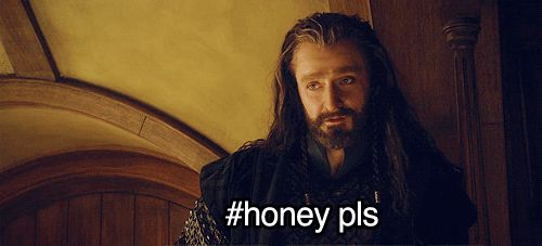 Because I think this all the time. And it's Richard Armitage with the LOreal hair.