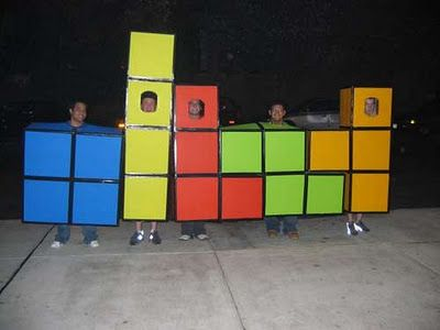 Group Tetris Costumes