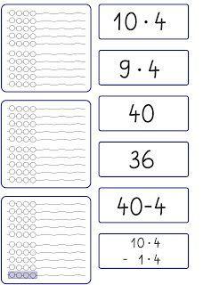 Lernstübchen: Rechenstrategie für die Aufgaben mal 9
