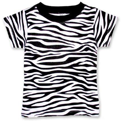 Zebra T Shirt Example of an a...