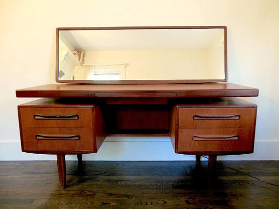 Mid Century Vanity Desk G Plan VB Wilkins Teak