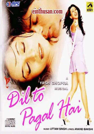 Dil To Pagal Hai Hindi Movie Online - Shahrukh Khan, Madhuri Dixit, Karisma Kapoor and Akshay Kumar. Directed by Yash Chopra. Music by Uttam Singh. 1997 Dil To Pagal Hai Hindi Movie Online.