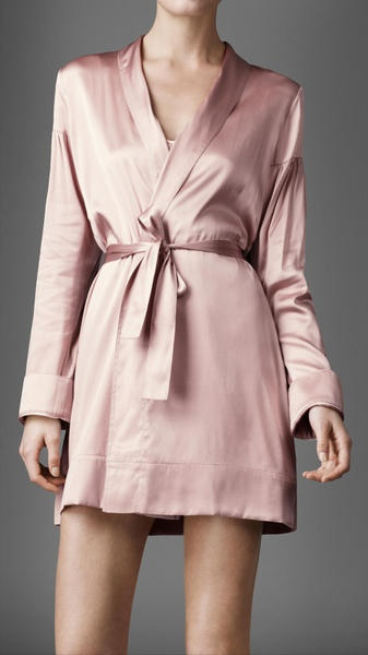 Silk Satin Night Robe