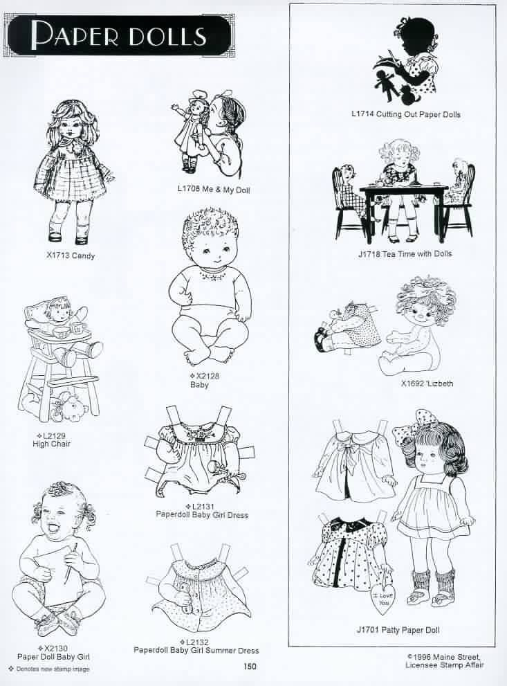 Best Paper Dolls Images On   Vintage Paper Dolls