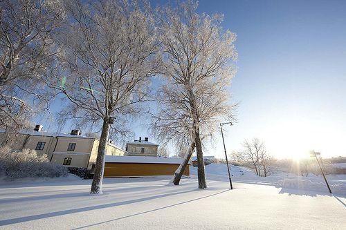 Winter in Suomenlinna, Helsinki