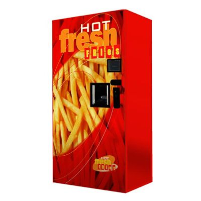 French Fries Vending Machine In Australia | 24 Vending Machines You Won't Believe Exist
