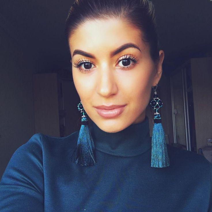 #серьгикисти #красота #ручнаяработа #selfie #MarinaNikitina #earring #jewelrydesigner #красота #мода #стиль #украшения #украинскийдизайнер #авторскаяработа #autumnstyle #fashionjewelry #jewelrygram #womanstyle