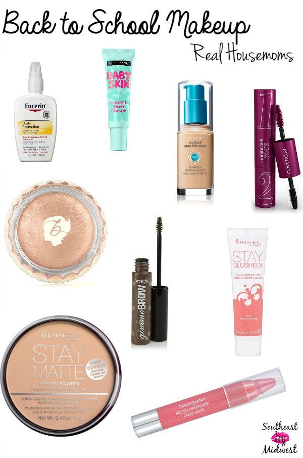 Back to School Makeup || Real Housemoms