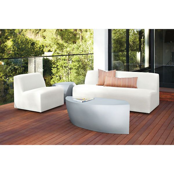 Room & Board - Gehry 50w 20d 17h Bench
