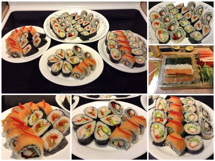 Homemade Sushi Part III