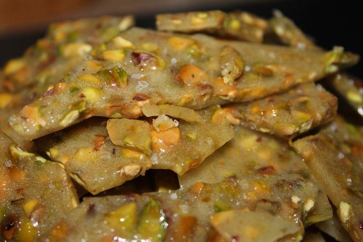Sea Salted Pistachio Brittle