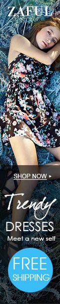 Free Shipping for Trendy Dresses @zaful: Meet A New Self