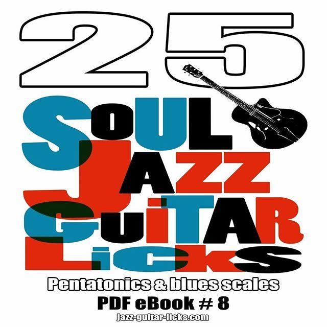 25 soul, jazz guitar licks with tabs. Printable PDF [...]