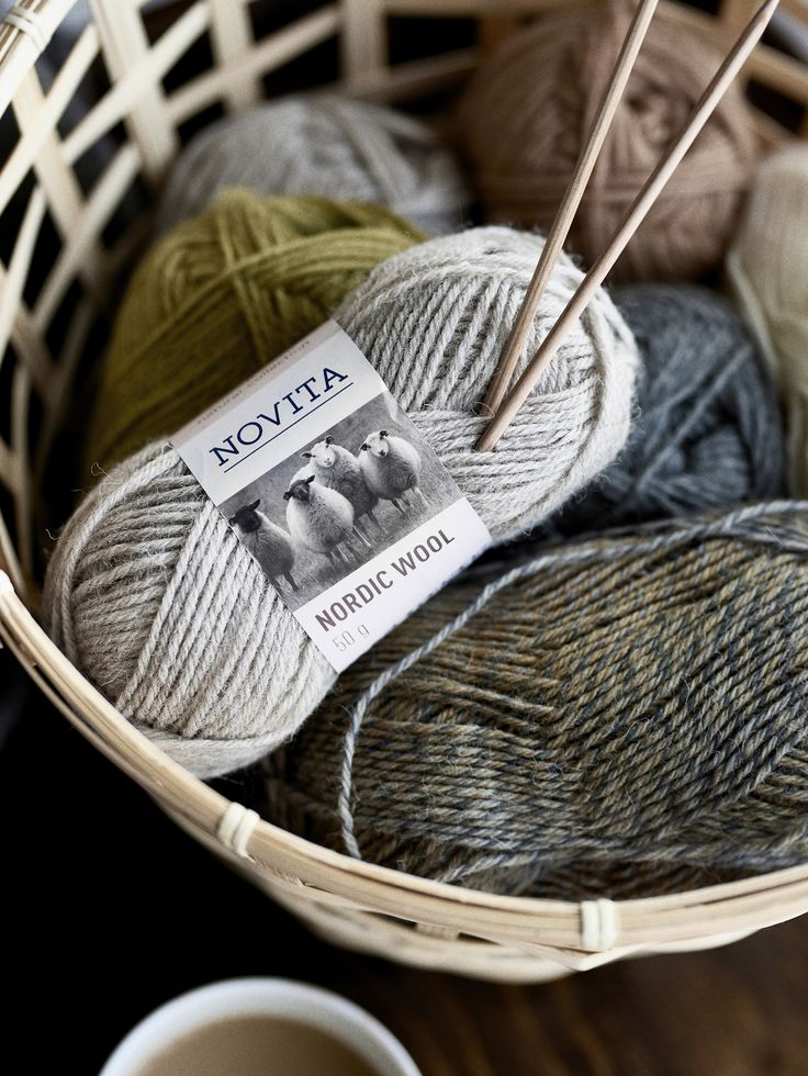 Novita Autumn/Winter 2017, Novita Nordic Wool yarn #novitaknits #knitting #knits https://www.novitaknits.com/en