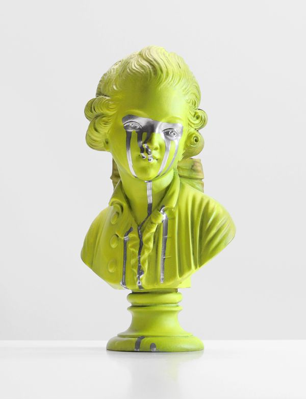 Chad Wys / Bust Of A Weeping Man #art #bust