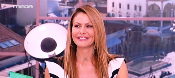 Η Τζένη Μπαλατσινού με chic, ασπρόμαυρο φόρεμα στο Πρωινό mou Πώς να αντιγράψετε το look! #jennygr