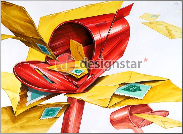http://blog.naver.com/design-star #디자인스타, #미술학원, #기초디자인, #입시미술, #입시디자인, #미대입시, #우편함, #편지봉투, #우표