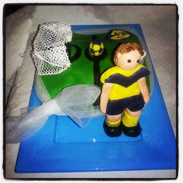 #cake #birthday #compleanno #football #soccer #player #field #ball #eretum #team #cakedesign #mordimibyemme