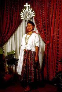 David Rodriguez Blog: Trajes Tipicos de Guatemala.San Juan Chamelco, Alta Verapaz