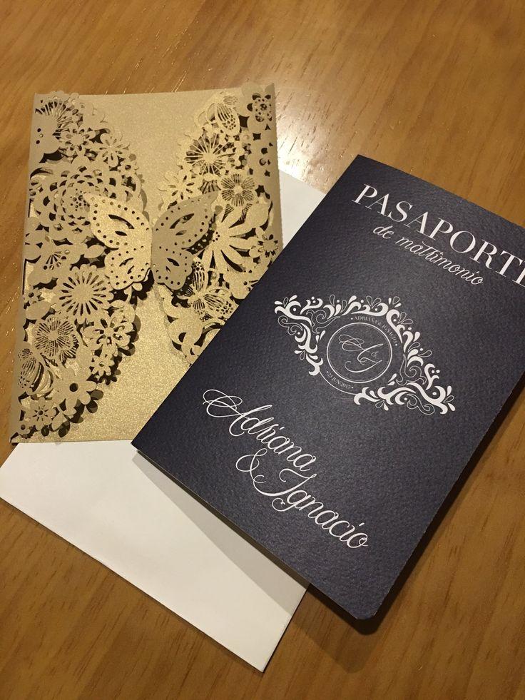 Así van quedando estas lindas tarjetas para el matrimonio de Adriana & Ignacio. #beekrafty #pasionporcrear