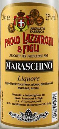 Lazzaroni Maraschino Liqueur