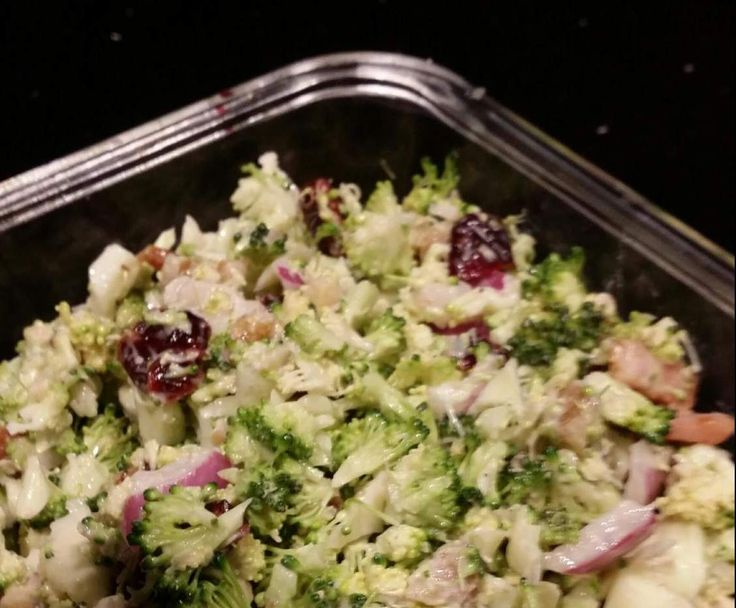 Recipe Sweet and Salty Broccoli Paleo Salad by Paleosteph - Recipe of category Side dishes