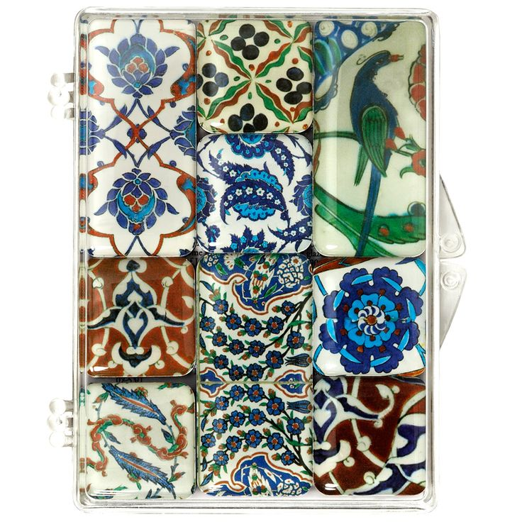 Iznik Ceramics Museum Magnets, The Met Store
