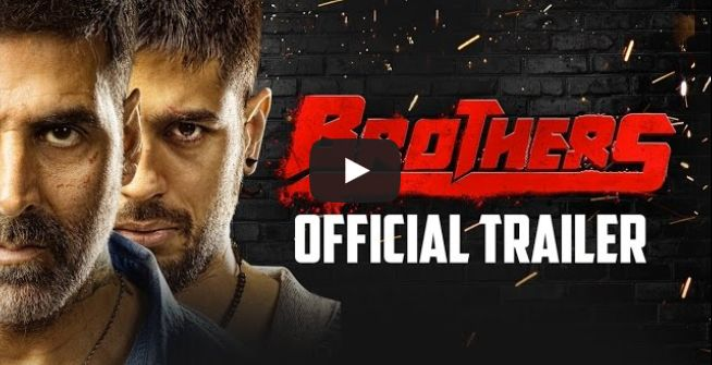"""Brothers Movie Trailer – Akshay Kumar """"Brothers"""" 2015 is the Latest Hindi Movie. The film is a remake of the 2011 Hollywood film Warrior. Staring - Akshay Kumar, Sidharth Malhotra and Jacqueline Fernandez in lead roles, while Jackie Shroff will play a supporting role. Movie is full of action, romance and intense emotions. Akshay Kumar has lost over 10kg of weight for the role. Punjabimeo.com"""
