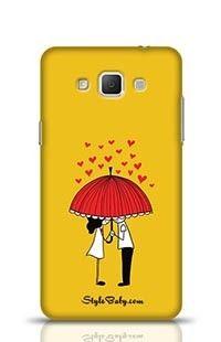 Love Couple Samsung Galaxy A7 Phone Case