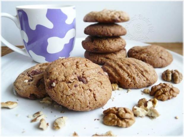 Sušienky s orechami a čokoládou - Recepty Naničmama.sk
