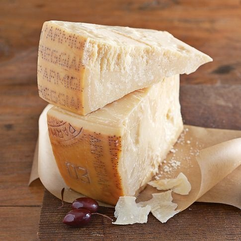 Parmegiano Regiano Cheese. If I had to choose one cheese for the rest of my life it would be this.