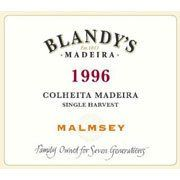 Blandy's Madeira Colheita Malmsey Single Harvest (500ML) 1996 from Portugal - Amber color with golden green reflections. Characteristic bouquet of Madeira with dried fruits, caramel flavors, honey, ...