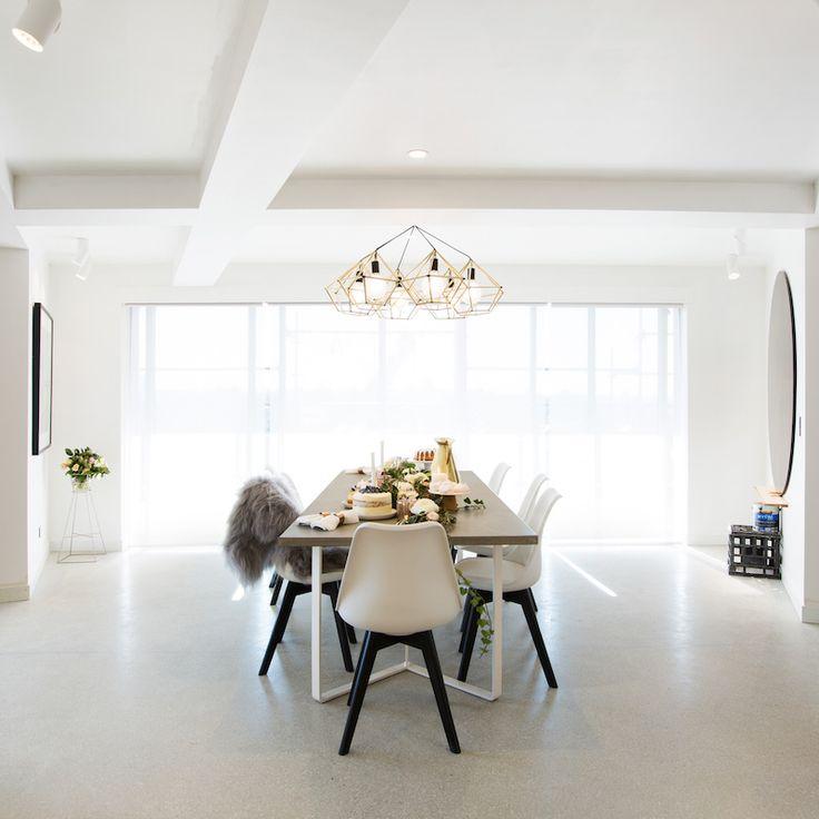 Dean and Shay Room 8 | Dining Room & Foyer #theblock #theblockshop #diningroom